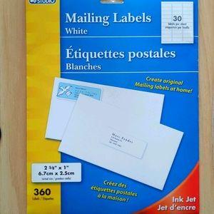 💵Bundle for $3 - 360 Mailing Labels 6.7x2.5 cm